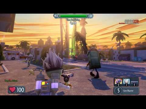 Plants vs Zombies Garden Warfare Scientist Gameplay