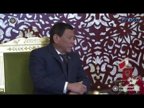 Bilateral Meeting with His Majesty King Hamad Bin Isa Al Khalifa  4/13/2017