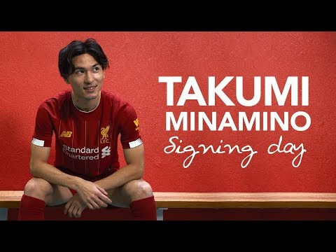 Signing Day VLOG: Minamino's First Day At Liverpool | サイニングVlog - 南野拓実選手のリヴァプールFCでの初日に密着