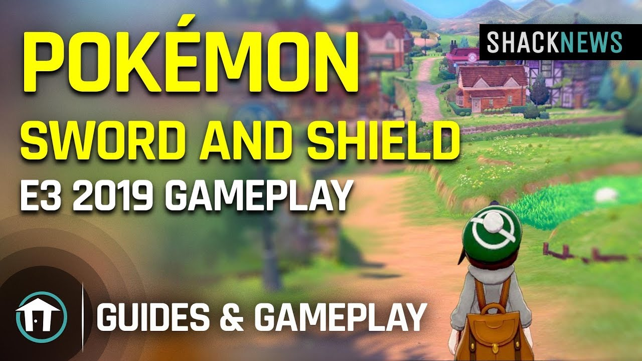 Pokémon Sword and Pokémon Shield Gameplay Gameplay E3 2019 - YouTube