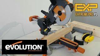 EVOLUTION R210 SMS - pierwsze cięcia - test