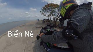 Kawasaki Ninja H2 cùng đồng bọn đi biển | Katari Ninja H2