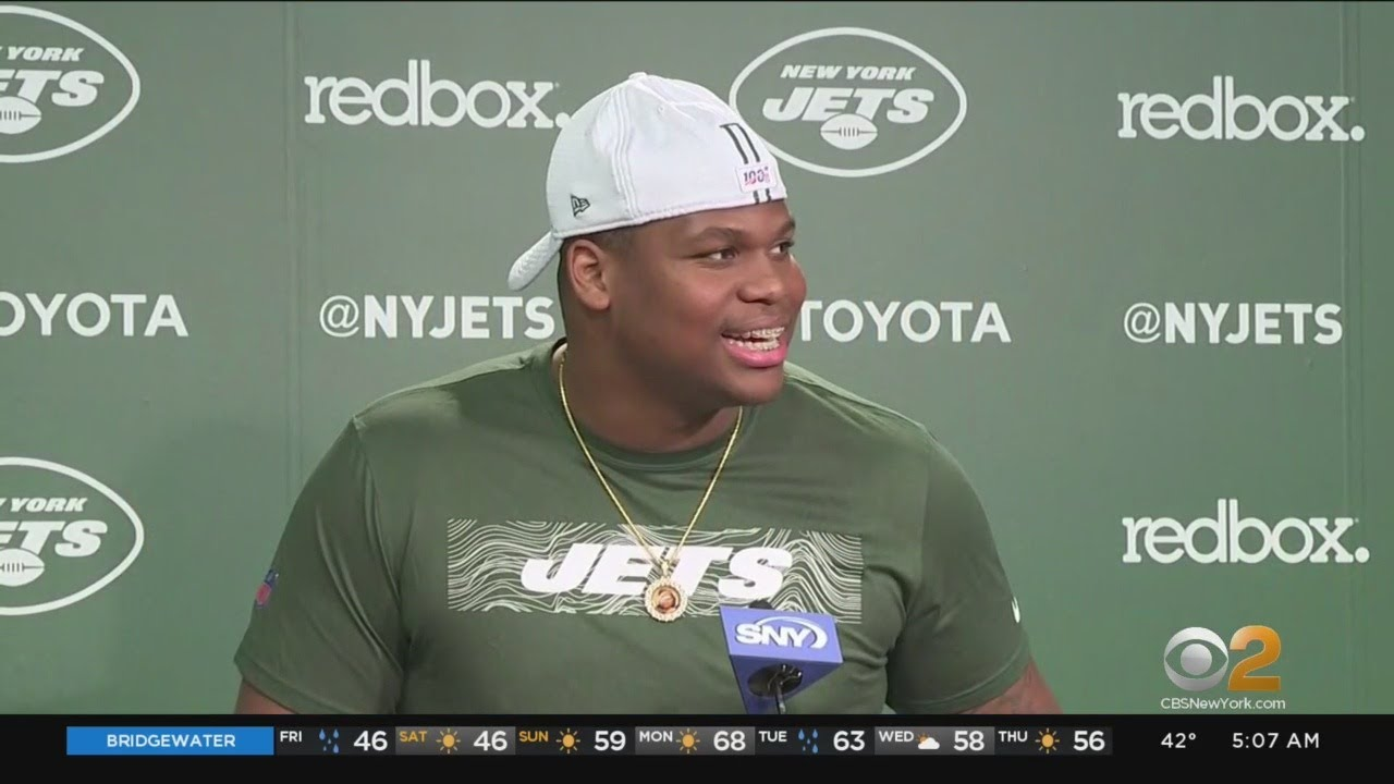 Jets' Quinnen Williams arrested at New York-area airport for gun ...
