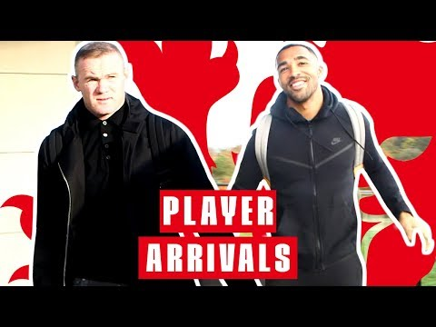 Rooney Returns and Wilson Meets the Boys! | Player Arrivals | Inside Access