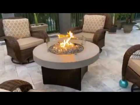 Customers Stunning Greystone Oriflamme Fire Table Youtube