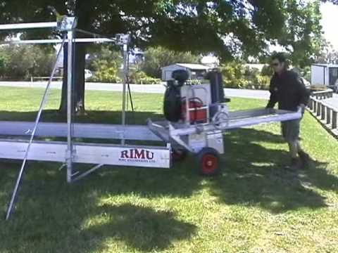 Rimu portable sawmill