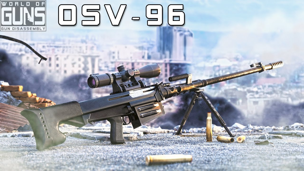 Anti Materiel Rifle how does osv-96 anti-materiel rifle work?