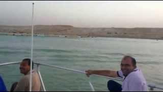 صحفيين وقضاة وأعلاميون يهتفون تحيا مصر فى قلب قناة السويس الجديدة