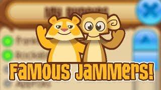 ANIMAL JAM SKIT: BUDDYING FAMOUS JAMMERS! [FT. SKORM]