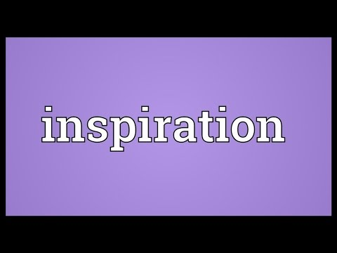 Inspiration Meaning