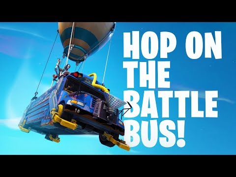 HIKEPLAYS: Fortnite Battle Royale - Hop On The PARTY Bus!! (4K)