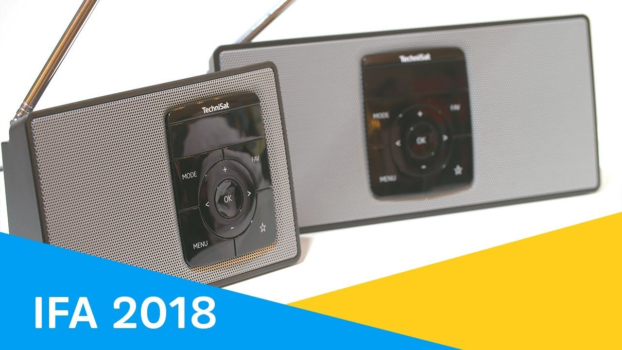 Video: IFA 2018 | TechniSat stellt neueste DAB+ Radios
