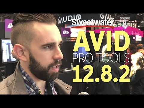 Avid Pro Tools 12.8.2 at AES 2017