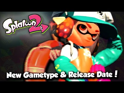 Splatoon 2 - Release Date, New Gametype: Salmon Run! (The Zombie Mode of Splatoon)