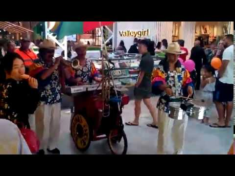 Mexican street music band on Opening Celebration of the Shopping Centre (Australia)
