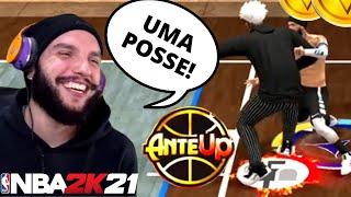 NBA 2K21 - É POSSÍVEL GANHAR DE UM PIVÔ NO X1 COM A MINHA BUILD ? (COMP STAGE ANTE UP)