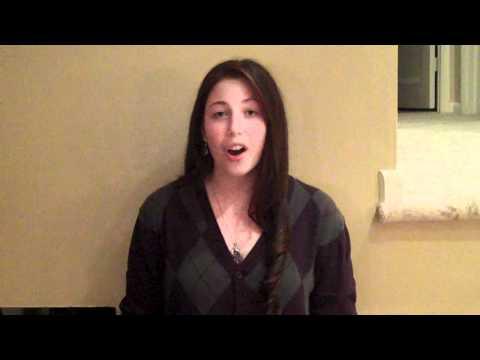 NYU Music Business Audition: Dana Shapiro, 10/26/10