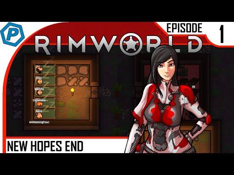 New Colony, Long Haul | RimWorld Alpha 15 | New Hopes End | #1 | Modded