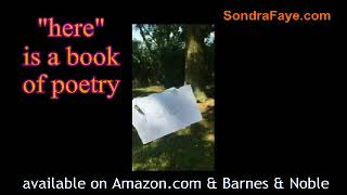 here : a book of poetry by sondra faye