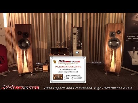 VAC Statement 450i IQ Integrated, Daedalus, Lampizator, Wywires, Great Room, Florida Audio Expo 2020