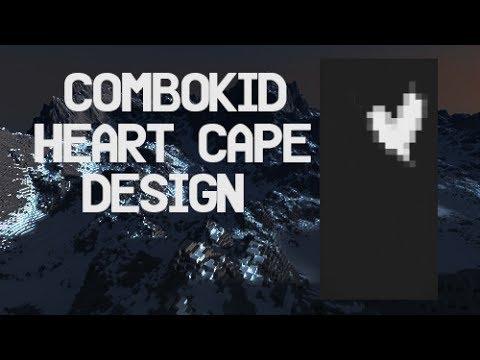 combokid Cape | Heart Cape Design