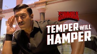 Temper will hamper | Dialogue Promo | Simmba | Ranveer Singh | Rohit Shetty