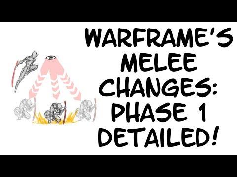 Warframe - Melee Changes: Phase 1 DETAILED!! thumbnail
