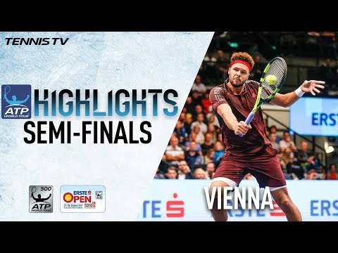 Tsonga Pouille Set All French Final In Vienna 2017