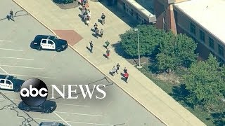 2 victims in Indiana school shooting, suspect in custody