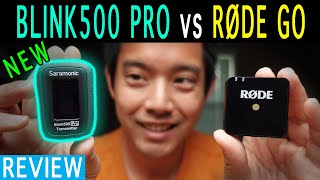 New Improved Saramonic Blink500 Pro B2 vs RODE Wireless Go | 7 hrs battery | LCD | Charging Case