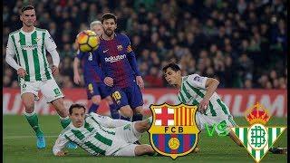 ملخص مباراة برشلونة و ريال بيتس 11/11/2018