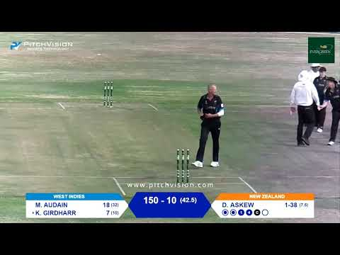 Over 50s Cricket World Cup | New Zealand vs West Indies