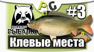 Російська Рибалка 4 Кльові Місця #3 озеро Комариное, Короп і Трофейний карась на Банановий бойл