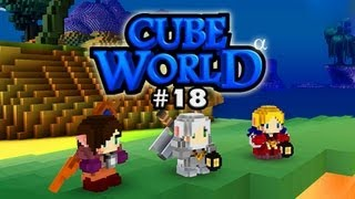 Cube World Multiplayer #18 - Tempel of Lugosel [Deutsch] [HD+] [Let