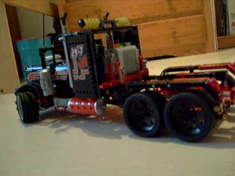 lego motorisation camion 8285 de course youtube. Black Bedroom Furniture Sets. Home Design Ideas