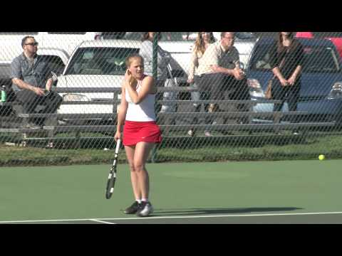 Women's Tennis - Chestnut Hill College Doubles Match Win - Iman Williams-Mulesa & Lara Scholtze