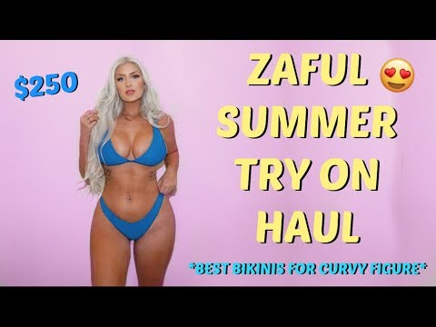 ZAFUL BIKINI Try On HAUL 2018
