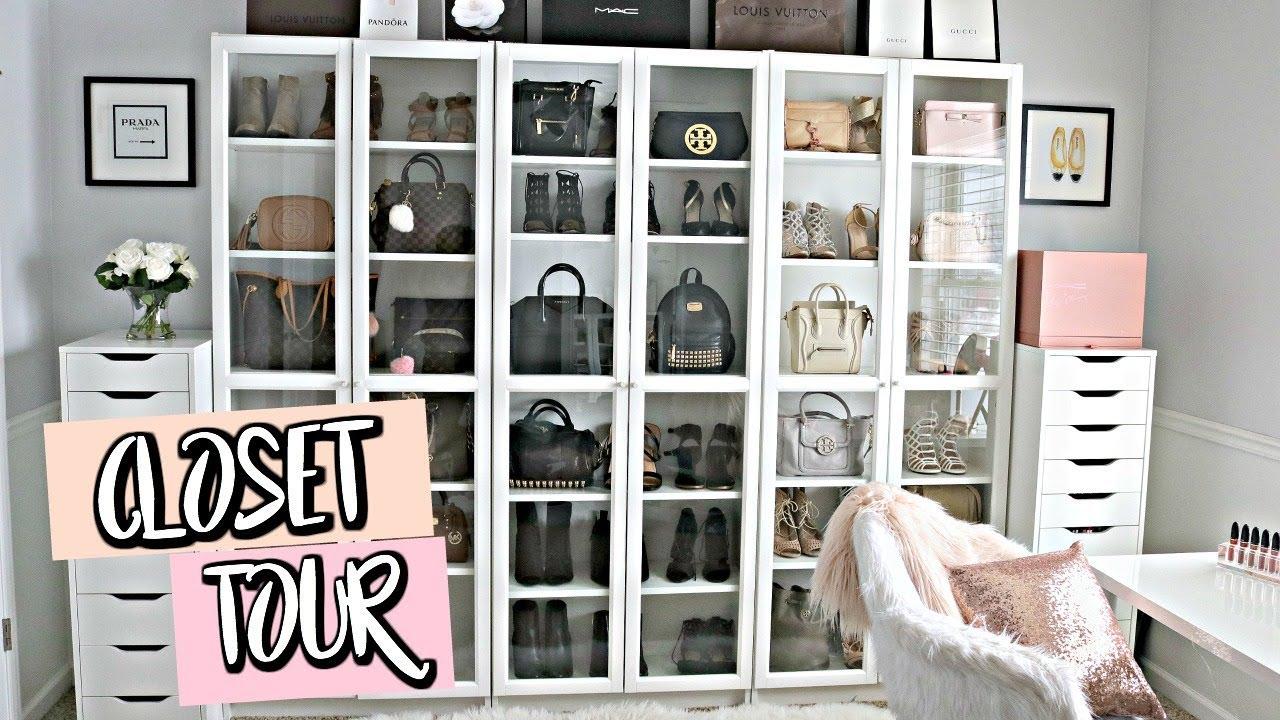 Luxury Closet Tour Belinda Selene