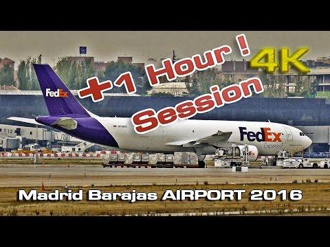 Madrid Barajas Spotting Session 2016  (+ 1 hour)[4K]