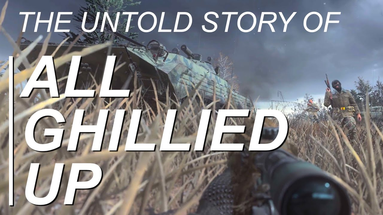 The Making of Modern Warfare's 'All Ghillied Up', Told by Ex-Infinity Ward Developers