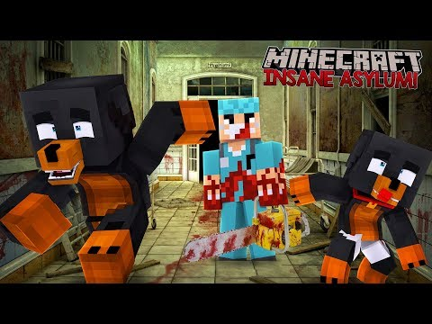 Minecraft INSANE ASYLUM - DONUT & THE BABIES TRY TO ESCAPE T