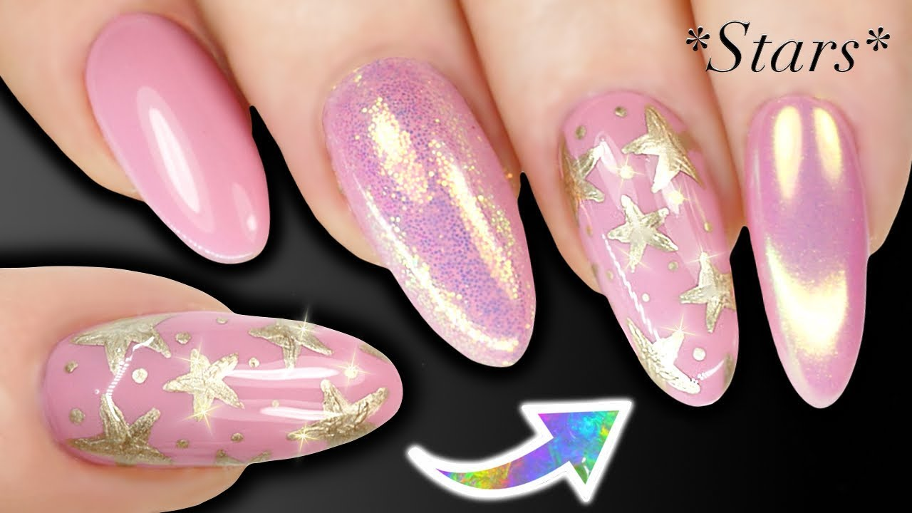 HOW TO HAND PAINT STARS - Nail Art For Beginners - STARS (Skills Building) - HOW TO HAND PAINT STARS - Nail Art For Beginners - STARS (Skills