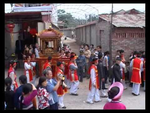 Lễ Rước Mẫu xã Sơn Đồng P3