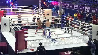 93 kg: Muslim Magomedov (Russia) vs. Anar Mammadov (Azerbaijan). 2017 World MMA Championships