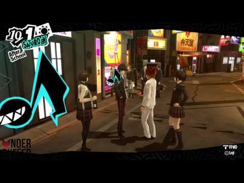 Persona 5 Makoto Niijima Rank 9/non Romance Priestess Confidant Guide