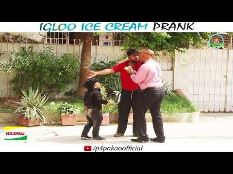 IGLOO ICECREAM PRANK  By Nadir Ali & Rizwan In  P4 Pakao  2017