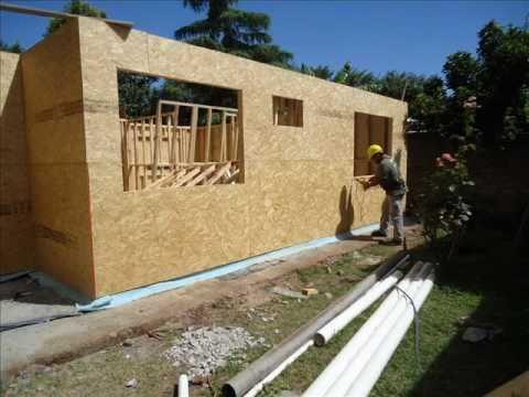 Casas americanas 2 youtube for Casas americanas de madera