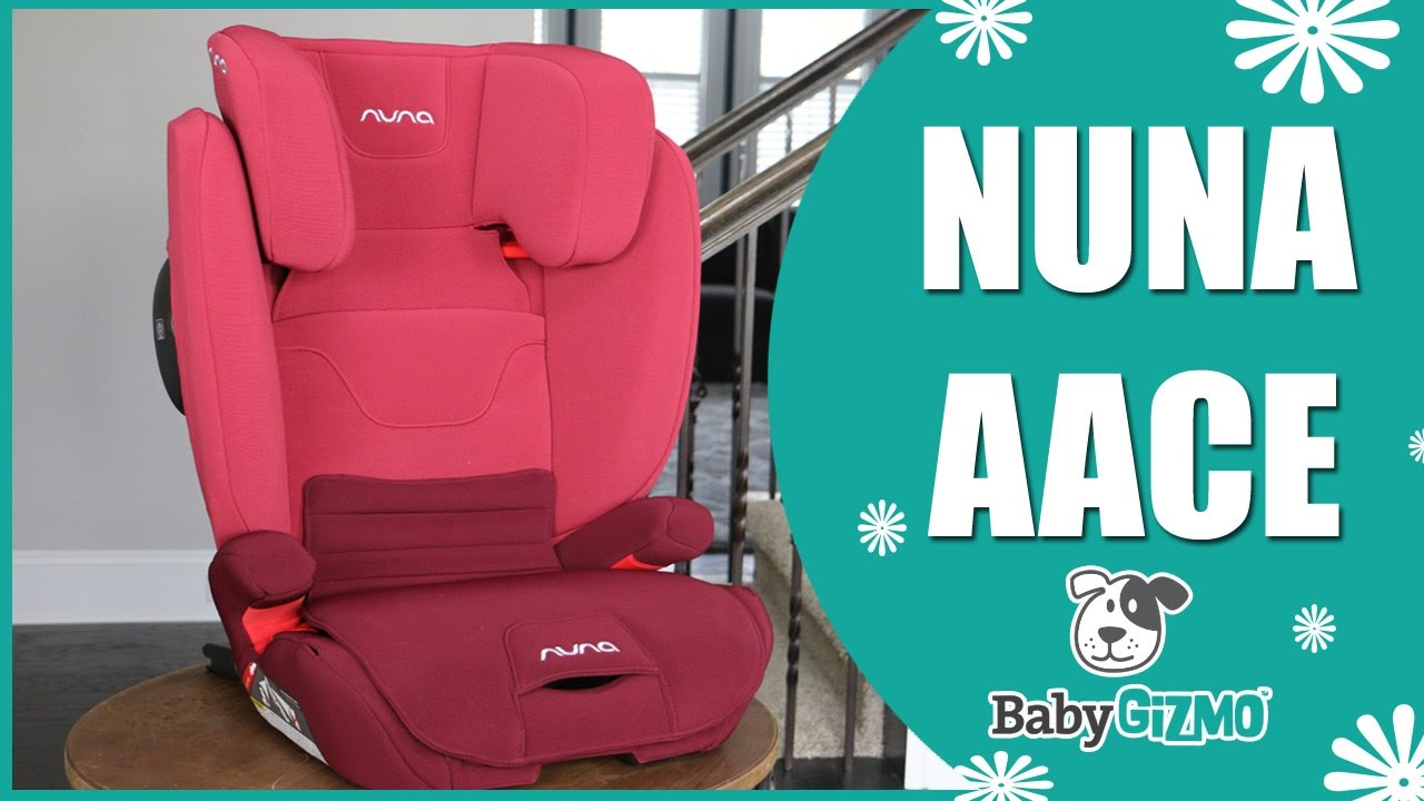Nuna Aace High Back Booster Car Seat For Kids