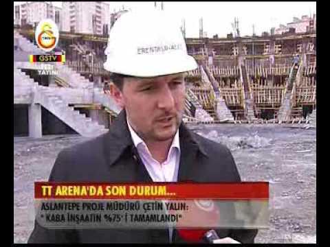 Türk Telekom Arena'da Son Durum (3.3.2009)