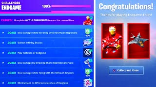 Finish The AVENGERS ENDGAME Challenges then THIS Happens!